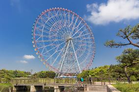 東京・葛西臨海公園「ダイヤと花の大観覧車」